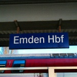 Ankunft in Emden
