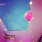Luftballons offenen Partio im Museum
