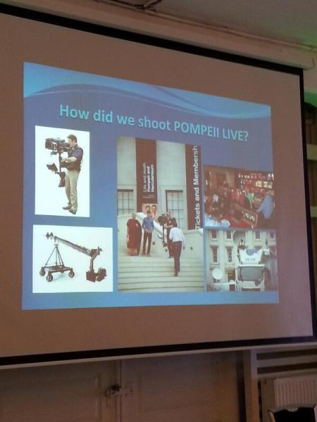 British Museum - How did we shoot Pompeii Live?