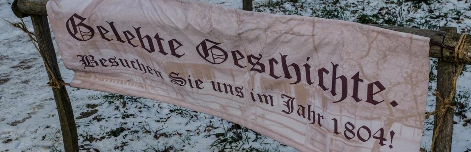 Gelebte Geschichte 1804 im Freilichtmuseum am Kiekeberg