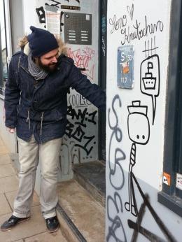 Streetart in Hamburg: Sebastian Hartmann öffnet uns die Augen.