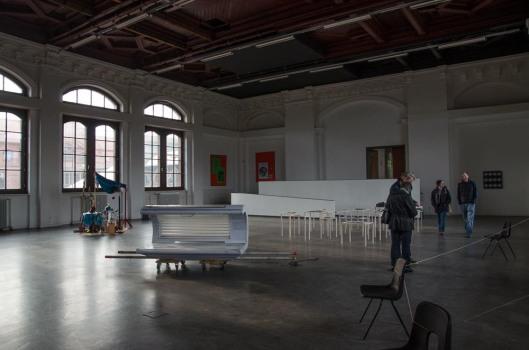 Kunstverein Harburger Bahnhof e.V. - ehemaliger Wartesaal der 1. Klasse im Harburger Bahnhof