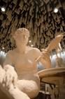 Wasserkunst Elbinsel Kaltehofe. Eine beeindruckte Präsentation: Brunnenfiguren.