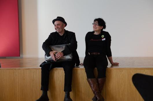 stARTcamp München 2014 digitales.weiter.denken Frank Tentler und Wibke Ladwig - beide waren mit spannenden Sessions beim #scmuc14 am Start.