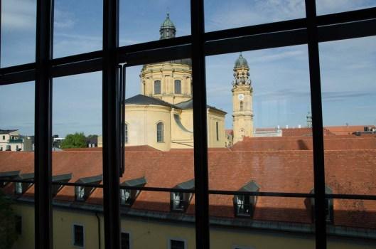 stARTcamp München 2014 digitales.weiter.denken Wunderbarer Ausblick - Literaturhaus München