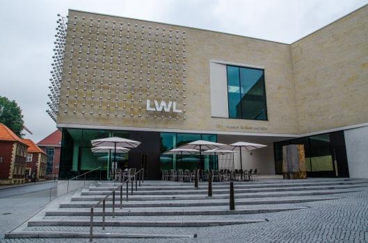 Umsetzung des Planes: der Neubau des LWL-Museums für Kunst und Kultur
