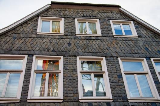 Schiefergebäude in Lippstadt