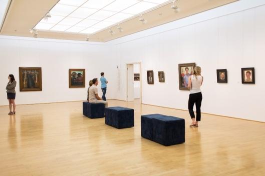 Ausstellungssaal im Paula Modersohn-Becker Museum. Foto: freiraumfotografie Bremen.
