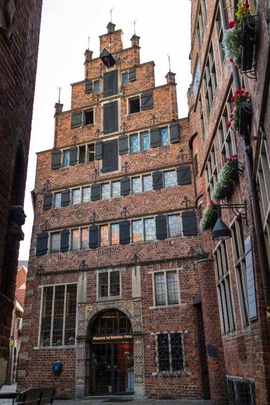 Bilck auf das Roselius- Haus Foto: freiraumfotografie Bremen