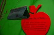 Der Apfel. Kultur mit Stiel Foto: Wera Wecker
