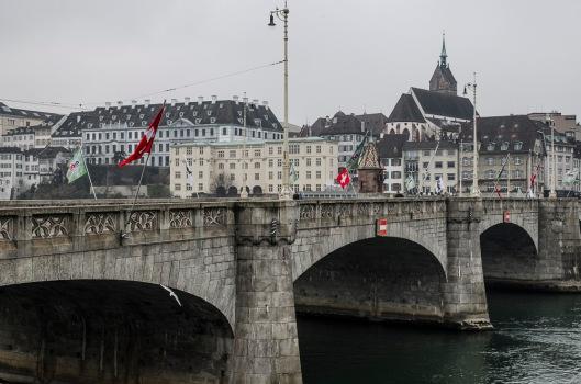 Mittlere Brücke - Verbindung von Klein Basel und Groß Basel