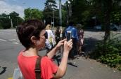 Kurzführung zur Augmented History App Stadtgeist Karlsruhe