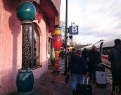 Hundertwasser Bahnhof in Uelzen