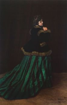 Camille im grünen Kleid, 1866, Kunsthalle Bremen