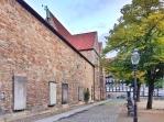 """Diese Kirche gehört zu """"Altewiek"""" (einem der fünf urbanen Räume um das Herzogtum). Die Kirche stammt aus dem 11. Jahrhundert, dort fand die erste Taufe nach der Reformation statt!!! Der Beleg zur Gründung dieser Kirche ist auch der erste urkundliche Beleg für Braunschweig."""