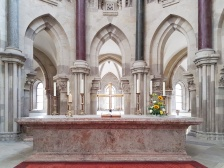Der Altar des Magdeburger Doms.